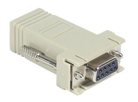 Adaptateur DB9F / RJ45