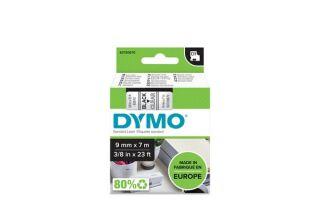 Ruban 9MM noir sur trans pour LP150/250-LM350/450/210D/220P