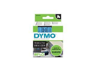 Ruban 9MM noir sur bleu pour LP150/250-LM350/450/210D/220P