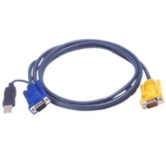 Cable kvm ATEN série 2L-52xxUP - 6,00M