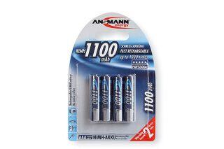 ANSMANN Batteries 5035232 HR03 / AAA blister de 4