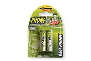ANSMANN Batteries 5030802 HR6 / AA blister de 2