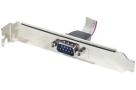 Equerre slot série DB9 1 port