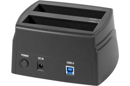 "Docking station Double Sata 3,5""/2,5"" USB 3.0 5GBPS chipset"