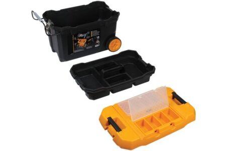 Caisse à outils sur roulettes