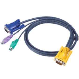 Cable kvm E5 ATEN 2L-52xxP - 6M