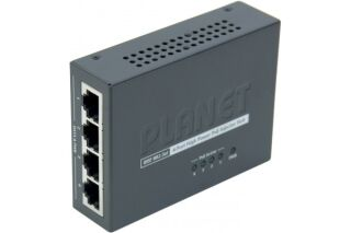Planet HPOE-460 mini injecteur 4 ports poe 802,3at 120W