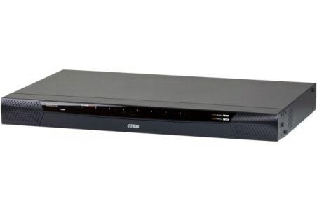 Aten PREMIUM KN1108VA Switch KVM PRO CAT5 8p Double IP+Alim Redond.