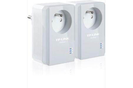 Tp-link TL-PA4015PKIT nano CPL 600 avec prise - pack de 2