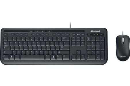MICROSOFT Pack Clavier/Souris Wired Desktop 600