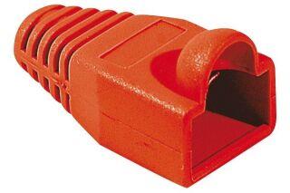 Manchon RJ45 rouge snagless diamètre 6,5 mm (sachet de 10 pcs)
