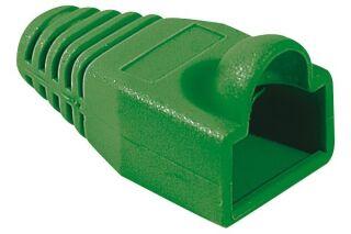 Manchon RJ45 vert snagless diamètre 6,5 mm (sachet de 10 pcs)
