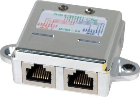 Eclateur de paires RJ45 STP LAN + TEL