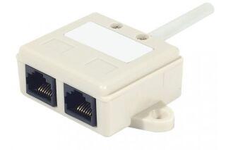 Eclateur de paires RJ45 UTP LAN + TEL