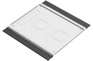 EFIRACK Plaque de fond avec balai passe cables 600X600