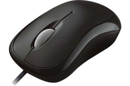 MICROSOFT Souris Basic Mouse Optique USB Noir