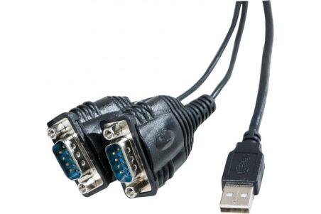 Convertisseur USB - Serie RS232 prolific - 2 ports DB9