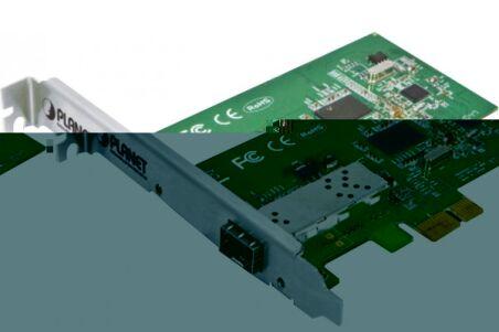 Planet ENW-9701 carte PCI-Express Gigabit SFP fibre optique
