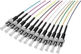 PIGTAIL OS2 ST/UPC LSOH 12 CONNECTEURS-2m