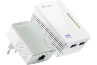 Tp-link TL-WPA4220KIT 2 CPL 500Mbps dont 1 avec WIFI 300Mbps