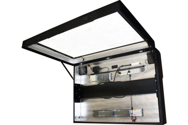 caisson de protection pour ecran plat 42 achat vente. Black Bedroom Furniture Sets. Home Design Ideas