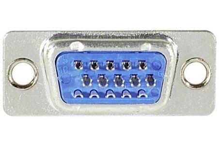 Connecteur à souder - HD15 Male