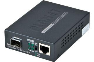 Planet GT-805A convert.fibre 10/100/1000 - sfp slot + LFP