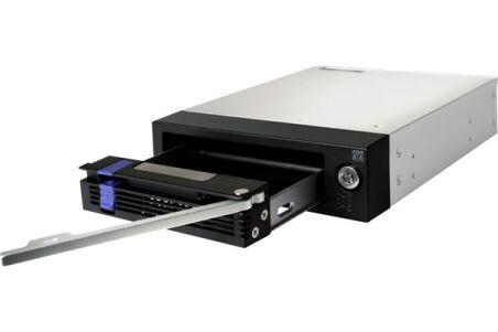 "ICY DOCK Rack amovible MB876SK-B 1 disque SATA/SAS 3""5"