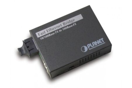 Planet FT-802 convertisseur fibre 100FX 2km SC + LFP