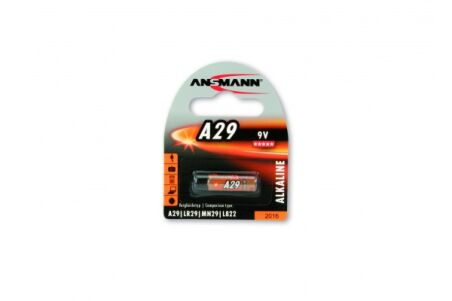 ANSMANN Piles alcalines 1510-0008 A29 blister de 1