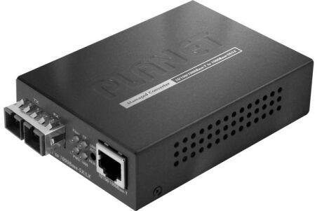 Planet GT-802 convert.fibre 10/100/1000 - 1000SX 550m + LFP