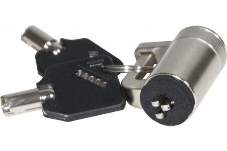 Passe câble securisé avec clé pour encoche K-Lock