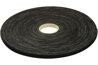 Lien auto-agrippant largeur 15 mm - longueur 10 m - noir
