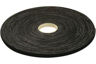 Rouleau de lien auto-agrippant largeur 15 mm - noir - 10 m