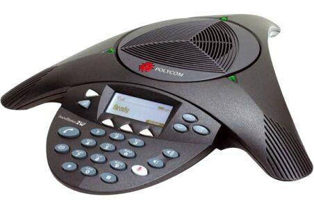 POLYCOM SoundStation 2 EX tele-conferencier analogique extensible