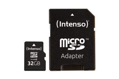 INTENSO Carte MicroSDHC Class 10 - 32Go