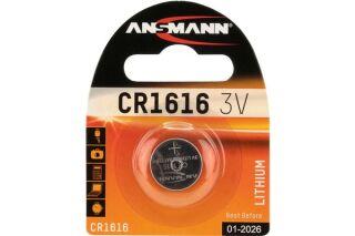ANSMANN Piles lithium 5020132 CR1616 blister de 1
