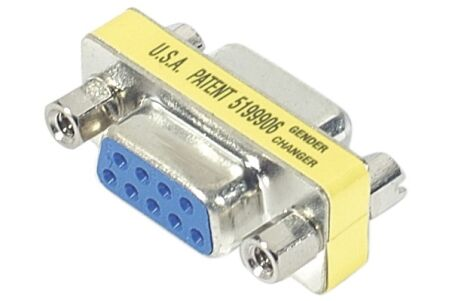 Mini coupleur DB9 - F/F
