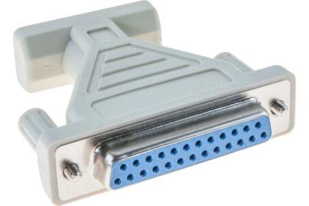 Adaptateur DB9/DB25 - 9Male/25Femelle
