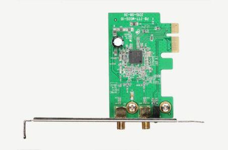 NETIS WF2113 Carte PCIe WiFi N300 ant.amov. std+low prof