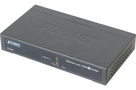 Planet VC-234 convert. VDSL2 RJ11 30a switch 4 ports RJ45