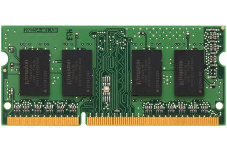 Mémoire KINGSTON SODIMM DDR3 1333MHz PC3-10600 2Go
