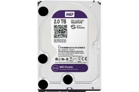 DD 3.5'' SATA III WESTERN DIGITAL Purple - 2To