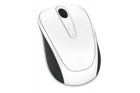 MICROSOFT Souris Wireless Mobile 3500 Sans Fil USB - Blanche