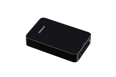 INTENSO Disque Dur Externe 3.5'' Memory Center USB 3.0 - 4 To Noir