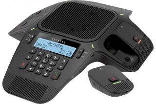 Alcatel conference 1800 base + 4 micros sans fil dect