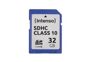 INTENSO Carte SDHC Class 10 - 32 Go