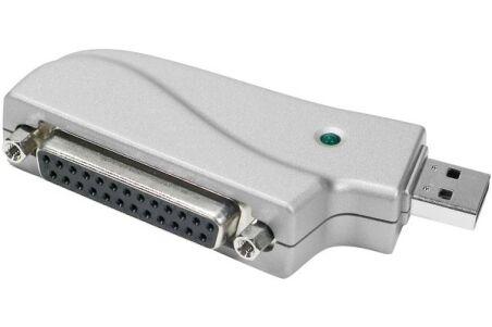 Adaptateur USB monobloc pour imprimante DB25