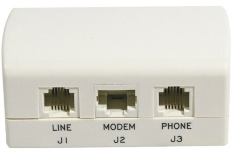 Boîtier filtre ADSL maître