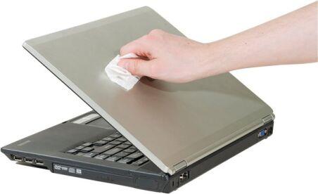 Dacomex - Boîte de 100 lingettes imprégnées écran/clavier